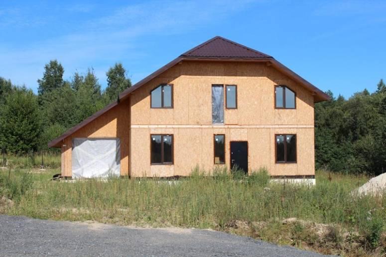 Строительство на участках Коттеджного поселка Коркинские просторы