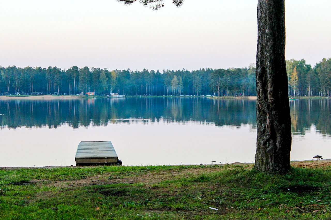 Озера для рыбалки ленинградской области