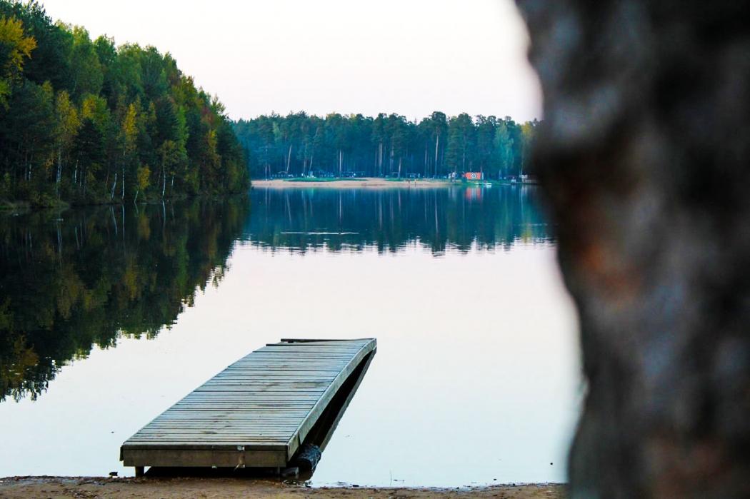 Озеро рядом ДНП Коркинские просторы