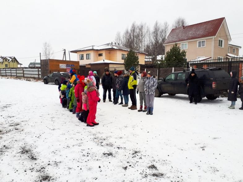 Проводы зимы в коттеджном поселке
